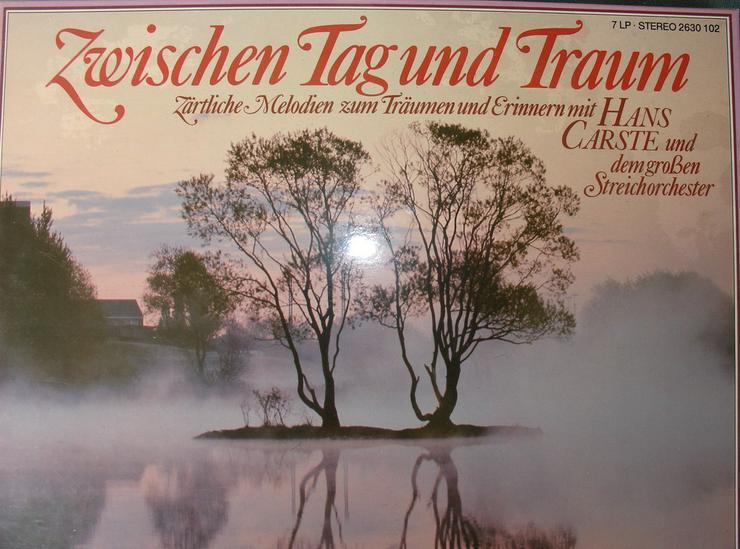 LP Kassette mit Hans Carste u. s. Orchester - LPs & Schallplatten - Bild 1