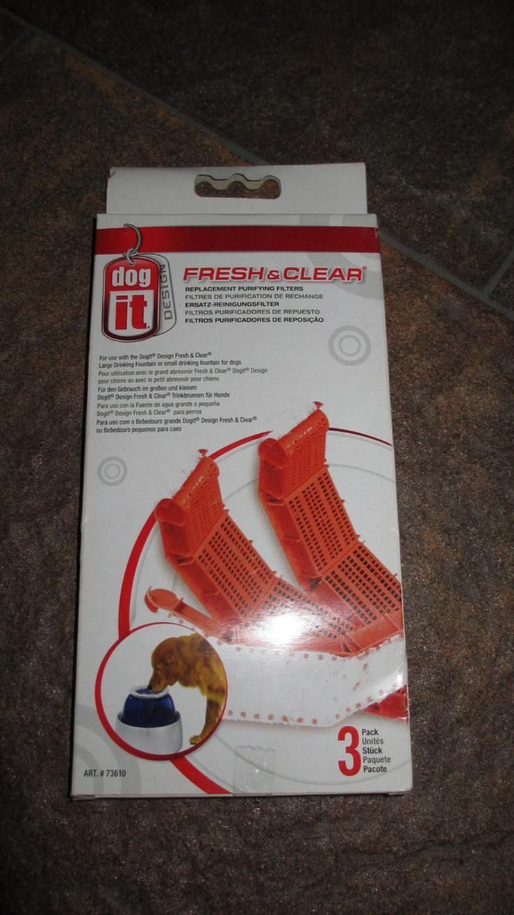 Dogit 73610 Ersatz Reinigungsfilter für Hundetr