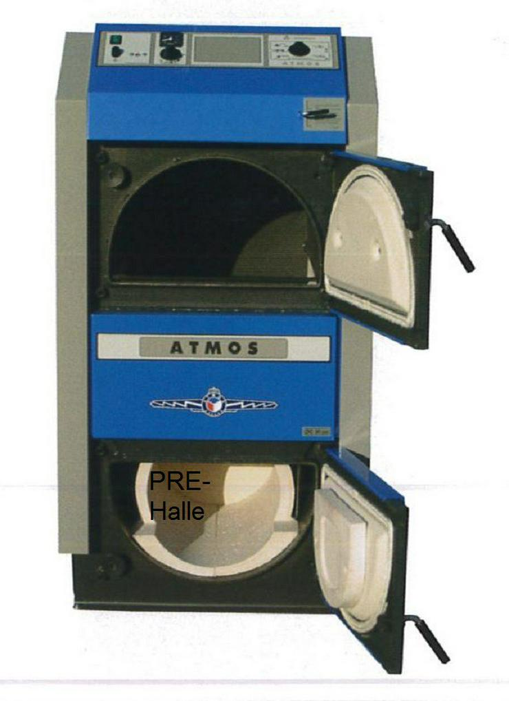 Holzvergaser Atmos GSX 50, 49 kW. Förderfähig