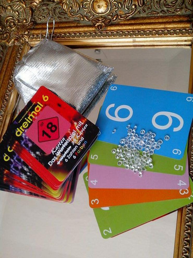dreimal 6 - rapido  -  Das schnelle Kartenspiel - Brettspiele & Kartenspiele - Bild 1