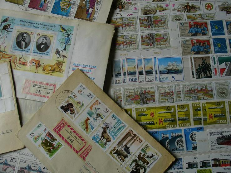 Bild 2: DDR Briefmarken