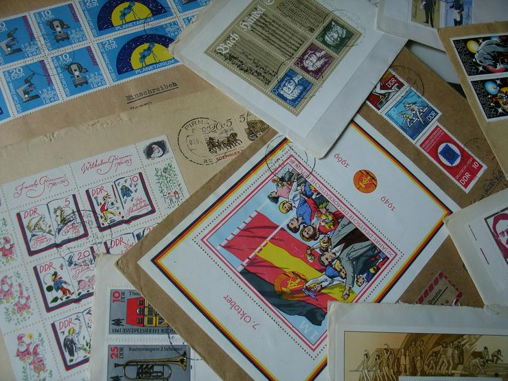 DDR Briefmarken - Deutschland - Bild 1