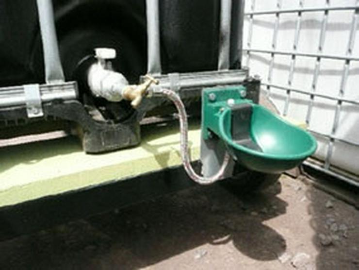 Weidetränke 1000 ltr.mit Tränkebecken fertig mo - Pferde (Großpferde) - Bild 1