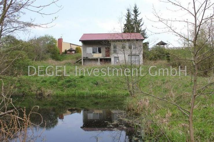 2900 m² Grundstück mit Rohbau in P?ytnica Polen, Woiwodschaft Großpolen - Grundstück kaufen - Bild 1