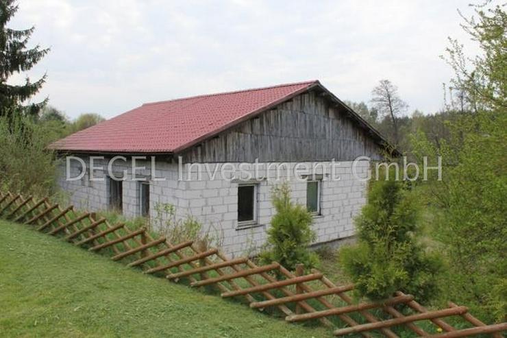 Bild 6: 2900 m² Grundstück mit Rohbau in P?ytnica Polen, Woiwodschaft Großpolen