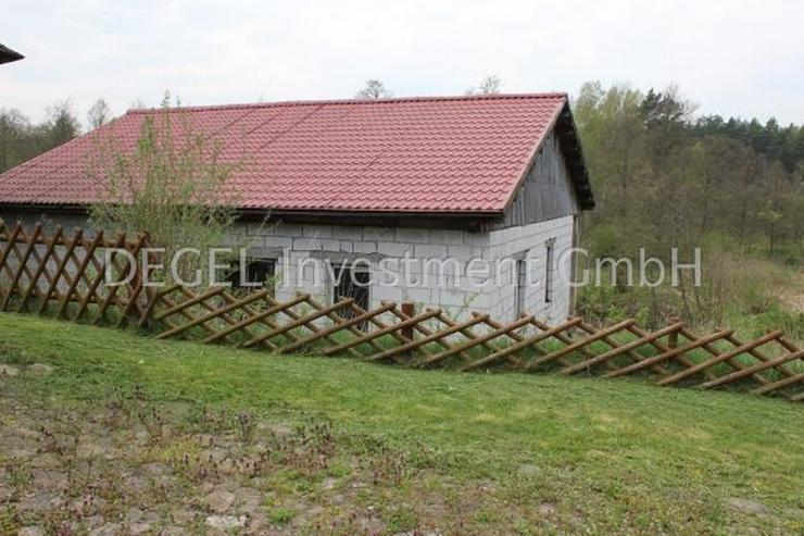 Bild 5: 2900 m² Grundstück mit Rohbau in P?ytnica Polen, Woiwodschaft Großpolen