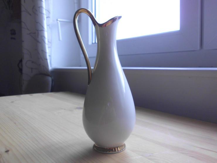 elfenbeinfarbene Vase von Bavaria