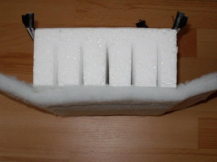 Bild 3: PRE Hartschaum Isolierung für 500 L Speicher
