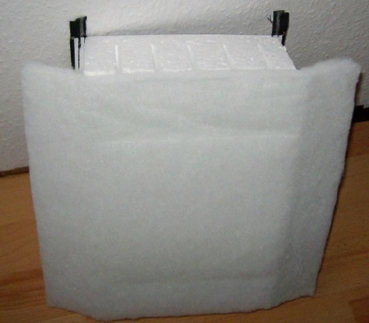 Bild 2: PRE Hartschaum Isolierung für 500 L Speicher