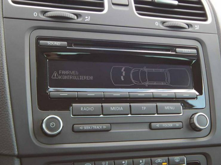 Bild 9: VW Golf VI 1.6 TDI Var. Style 4Motion Businesspaket