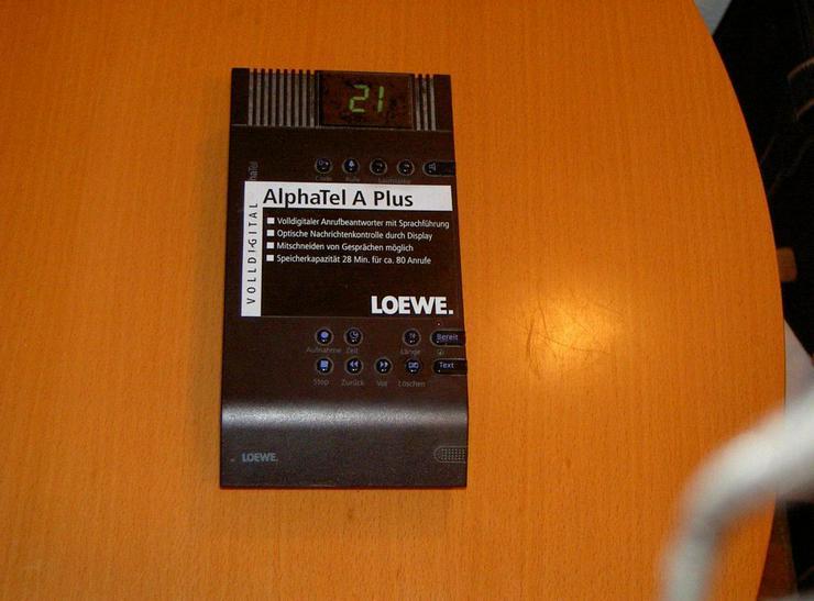 Digitaler Anrufbeantworter Loewe AlphaTel A Plu