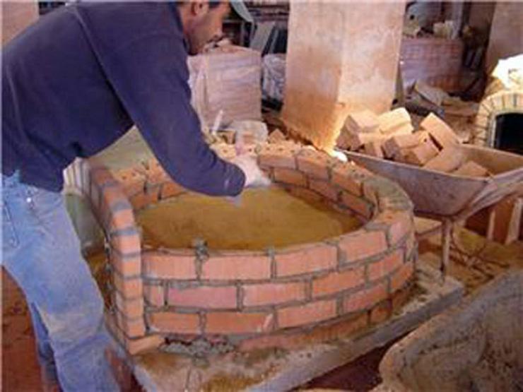Bild 6: Holzbackofen Steinbackofen - fix & fertig