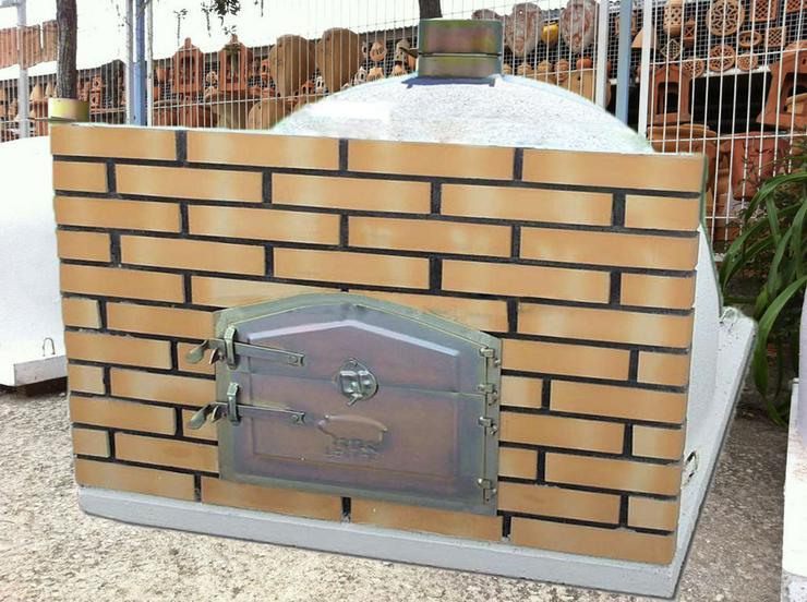 Bild 4: Holzbackofen Steinbackofen - fix & fertig