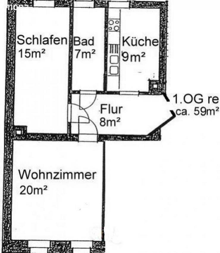 Bild 8: 2-Zimmer Wohnung nahe Auenwald
