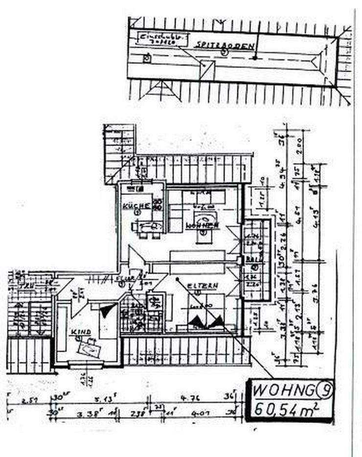 Bild 3: Eine 3 ZKBB OG Wohnung, Stellpl. Hausbergerschweiz 32457