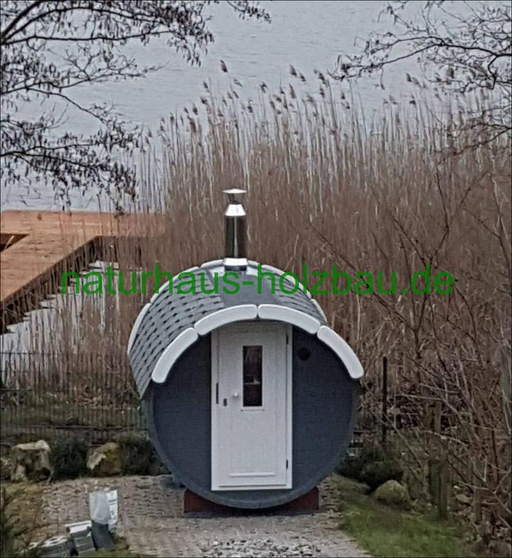 Fasssauna, Saunafass, Gartensauna, Sauna Pod
