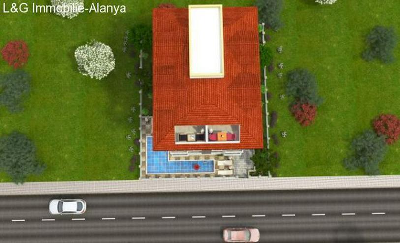 Bild 2: Alanya Ferienwohnung in der Türkei mit Meer- und Bergblick