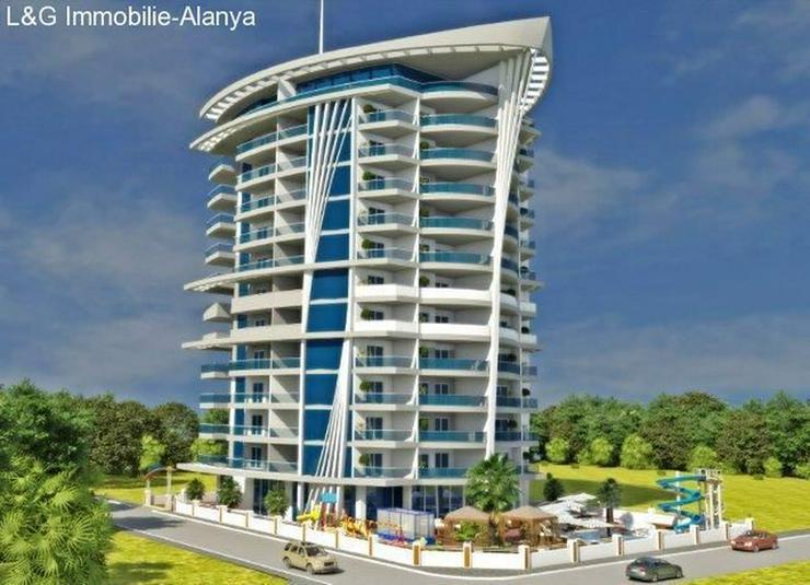 Schöne Ferienwohnungen in einer neuen Residence Anlage in Alanya - Mahmutlar.