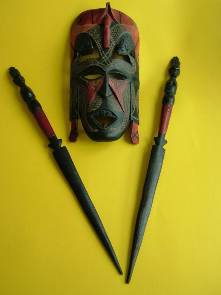 Afrikanische Massai-Maske