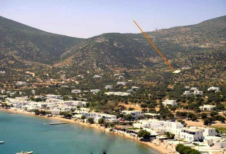 Bebaubares Grundstück auf Sifnos