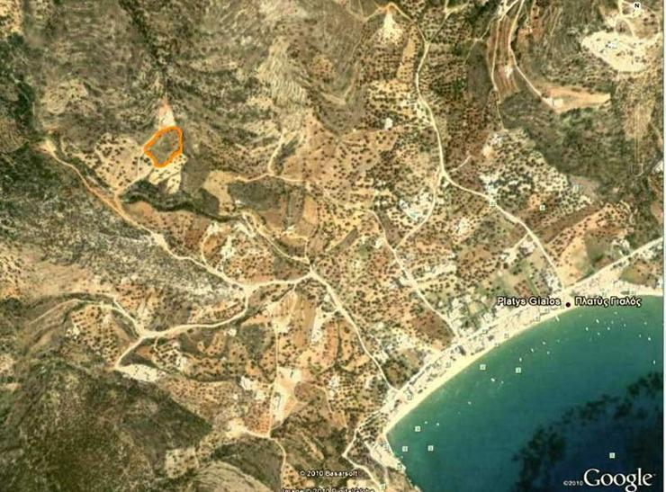 Bild 4: Bebaubares Grundstück auf Sifnos