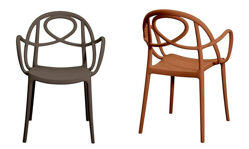 Kunststoff-Armlehnstuhl ETOILE-P - Stühle & Sitzbänke - Bild 1