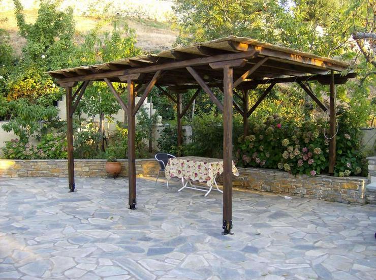 Bild 5: Wunderschönes Natursteinhaus auf dem Pilion
