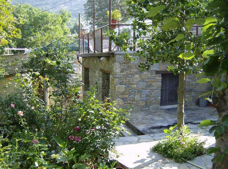 Bild 4: Wunderschönes Natursteinhaus auf dem Pilion