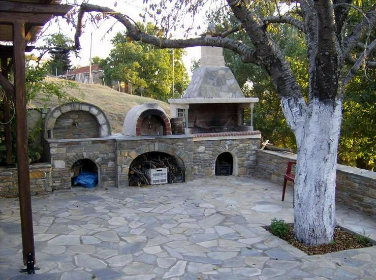 Bild 3: Wunderschönes Natursteinhaus auf dem Pilion
