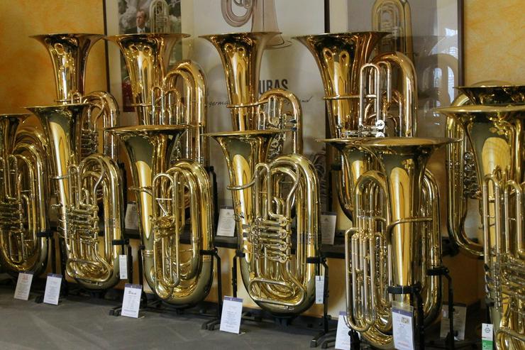 Bild 3: Jupiter BBb - Sousaphon, Fiberglass, weiss, Neu