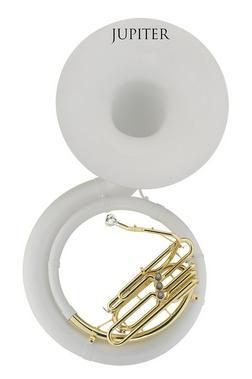 Jupiter BBb Sousaphon Fiberglass weiss Neu - Blasinstrumente - Bild 1
