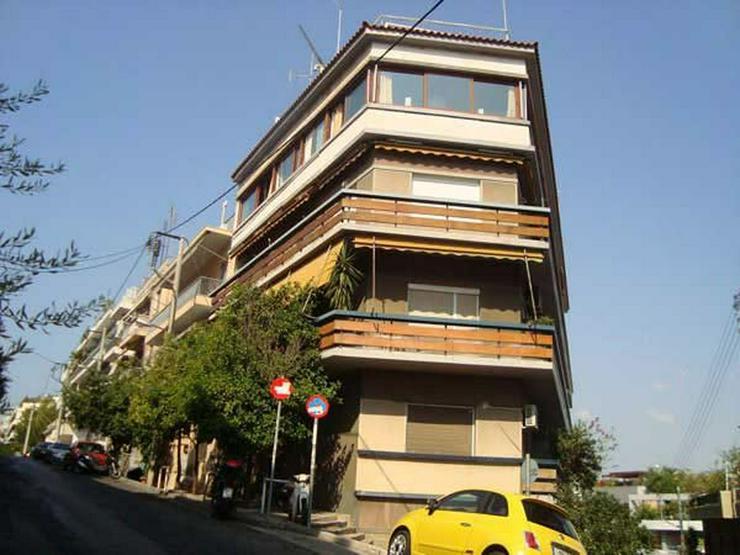 Penthouse-Wohnung am Fusse des Lykabitos