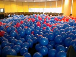 Luftballons helium ballongs Ballon Dekorationen - Gewerbebedarf - Bild 1
