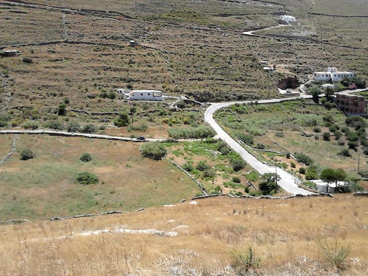 Bild 2:  Grundstück mit Meerblick auf Kythnos