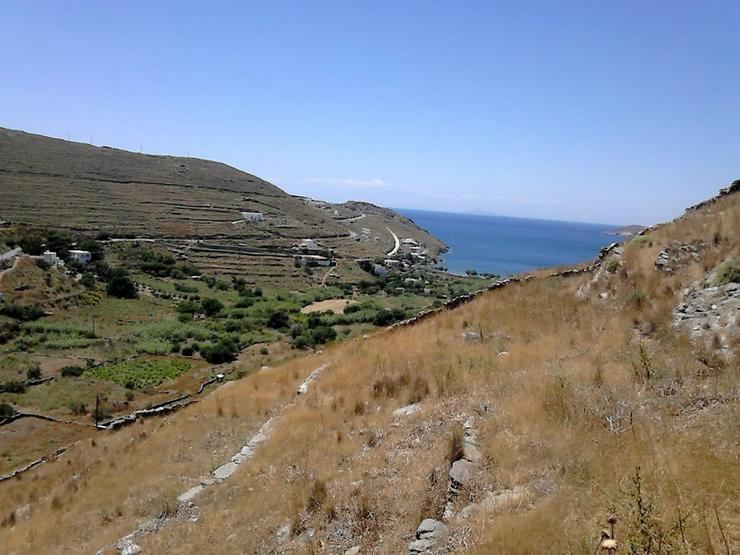 Grundstück mit Meerblick auf Kythnos - Grundstück kaufen - Bild 1