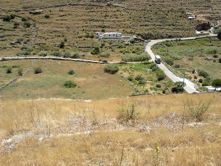 Bild 4:  Grundstück mit Meerblick auf Kythnos