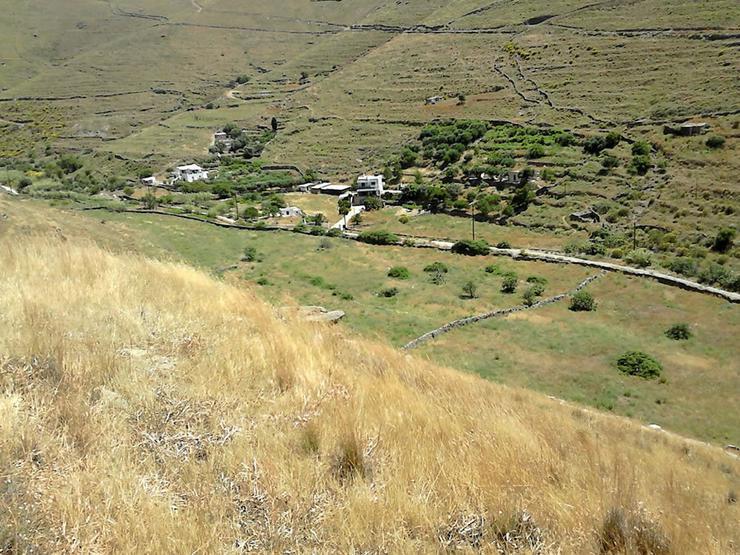Bild 3:  Grundstück mit Meerblick auf Kythnos
