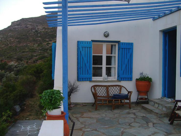 Bild 4:  Landleben auf der schönen Insel Andros