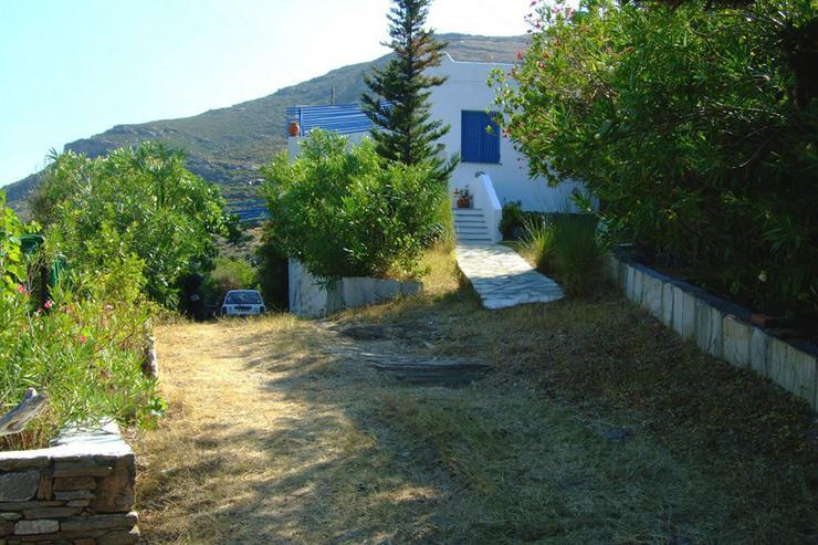 Bild 3:  Landleben auf der schönen Insel Andros