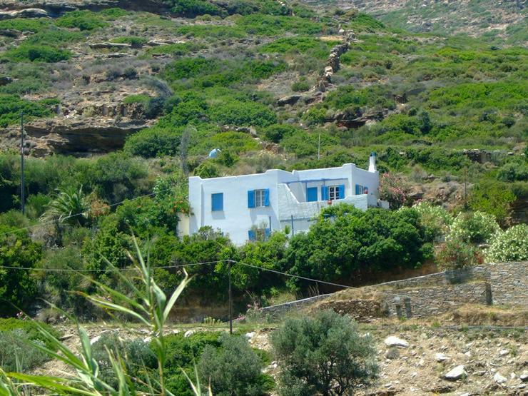 Landleben auf der schönen Insel Andros - Haus kaufen - Bild 1