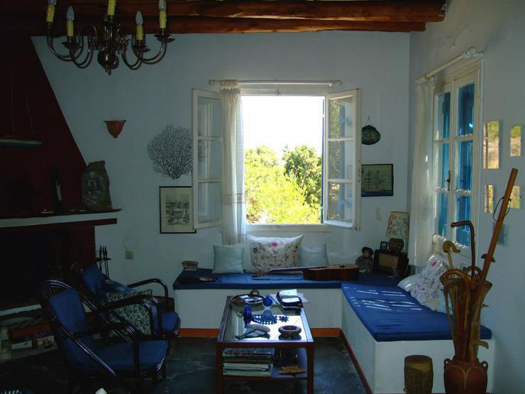 Bild 2:  Landleben auf der schönen Insel Andros
