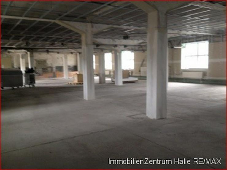 Bild 3: Lagerhalle an der A14, im Norden von Halle !