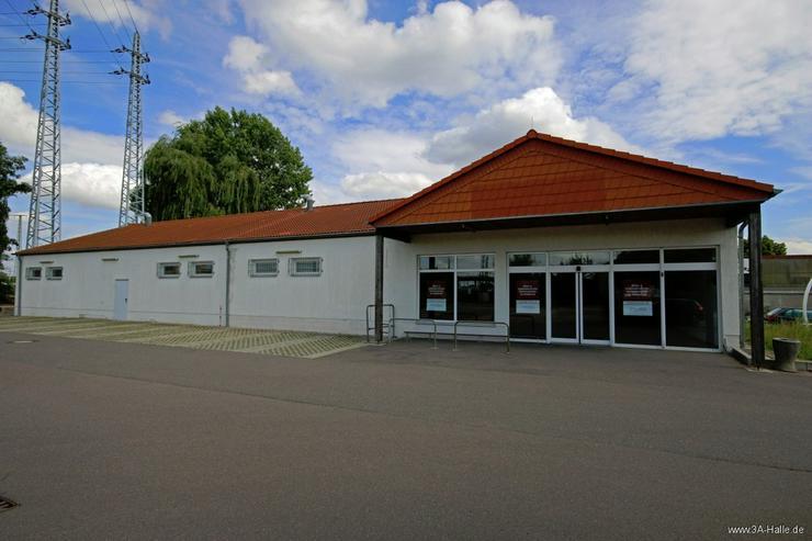 Bild 2: ca. 680 m² Verkaufsfläche im Gewerbegebiet Halle Ost