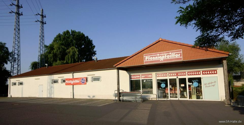 ca. 680 m² Verkaufsfläche im Gewerbegebiet Halle Ost - Gewerbeimmobilie mieten - Bild 1