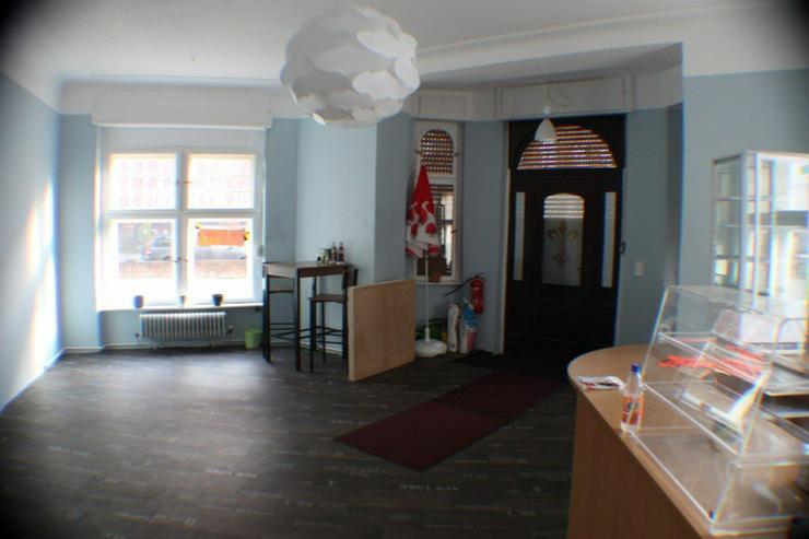 Bild 5: Gew.-R./Außenbereich Café,Gastst. Bäckerei -Eisdiele.  Denkmalschutz