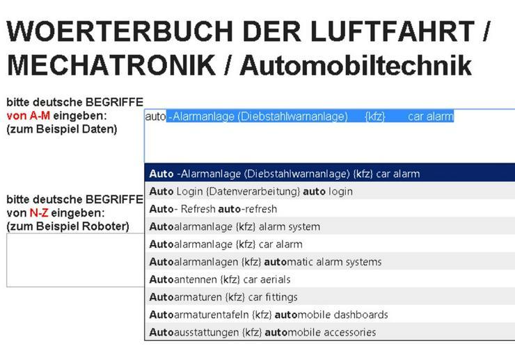 Mechatronik-Begriffe finden de-en uebersetzen - Lexika & Chroniken - Bild 1