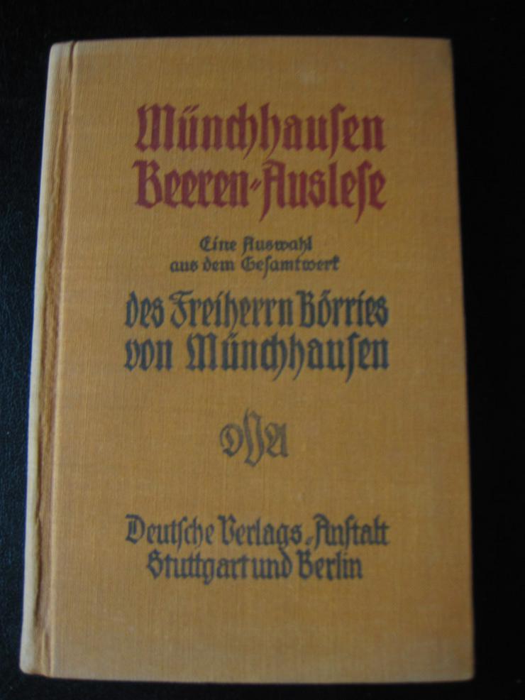 Münchhausen Beeren-Auslese