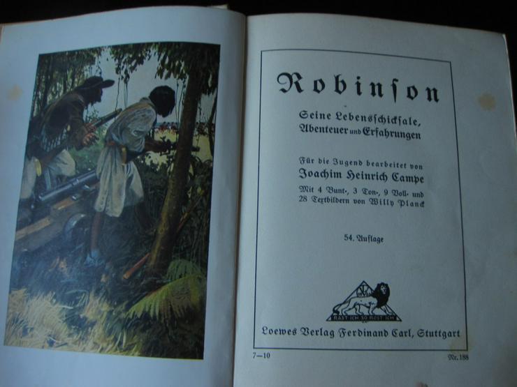 Bild 2: Robinson-Seine Lebensschicksale 54. Auflage