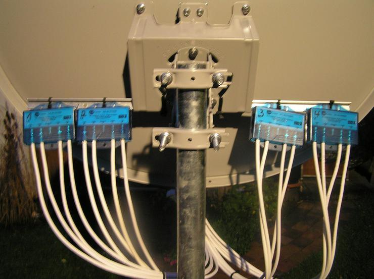 Bild 3: Sat-Anlagen Antennen Montage Beratung Verkauf