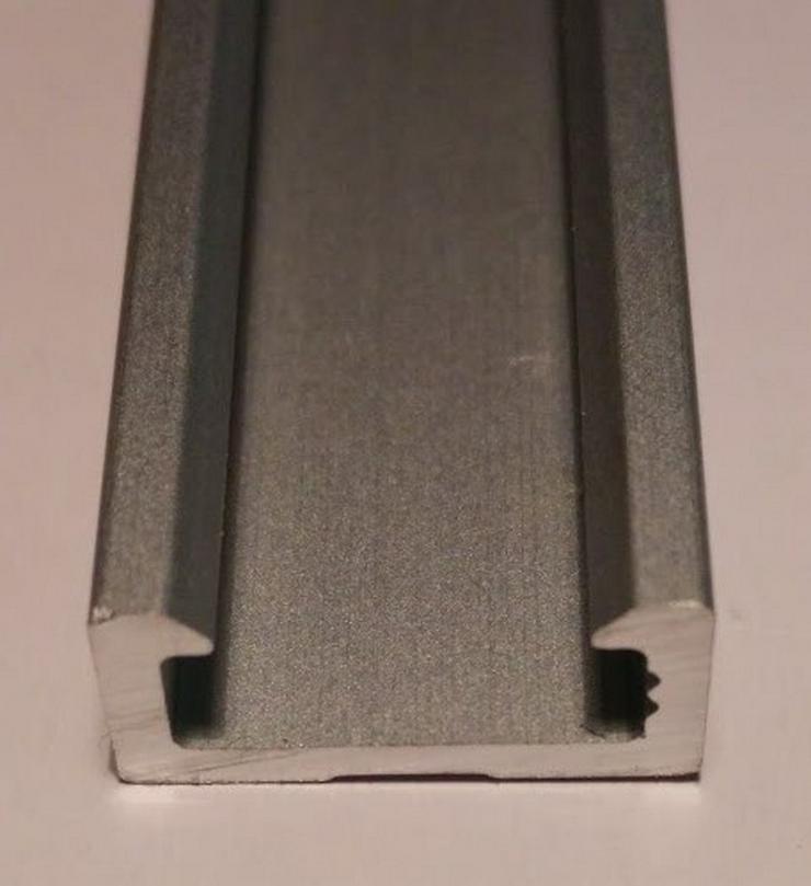 1m alu profil led aluminium leiste led strip in bochum auf. Black Bedroom Furniture Sets. Home Design Ideas